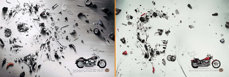 Creative Imagery in Branding HarleyDavidson